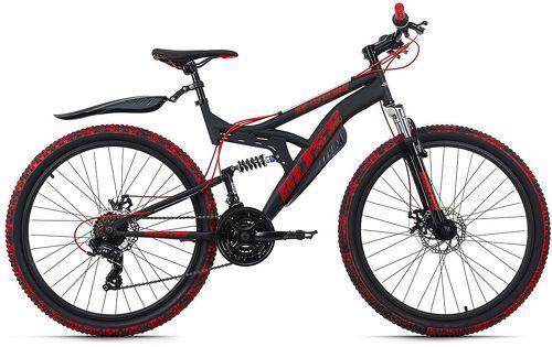 KS Cycling-VTT Tout Suspendu 26'' Bliss Pro noir-rouge TC 46 cm KS Cycling-image-1
