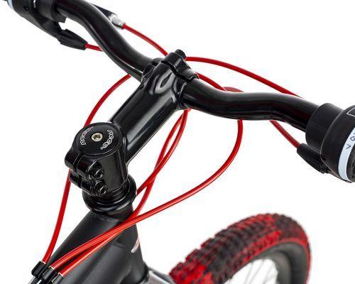KS Cycling-VTT Tout Suspendu 26'' Bliss Pro noir-rouge TC 46 cm KS Cycling-image-4
