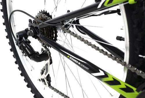 KS Cycling-VTT tout suspendu 26'' Zodiac noir-vert TC 48 cm KS Cycling-image-3