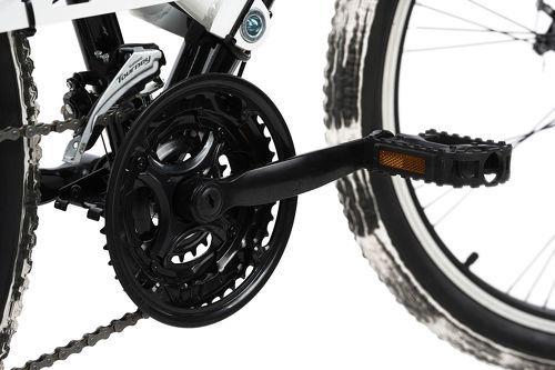 KS Cycling-VTT tout suspendu ATB 26'' Crusher noir-blanc TC 46 cm KS Cycling-image-2