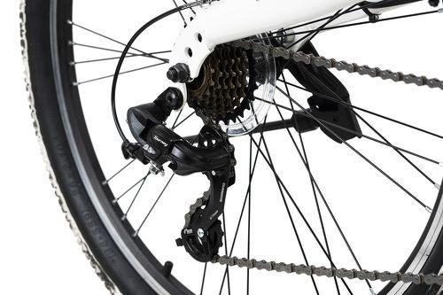 KS Cycling-VTT tout suspendu ATB 26'' Crusher noir-blanc TC 46 cm KS Cycling-image-3