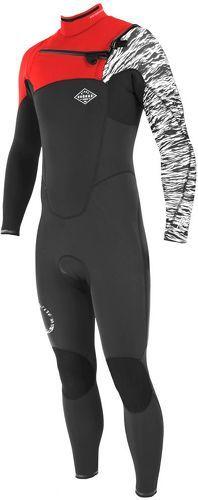 Soöruz Surfwear-Combinaison 3/2 FIGHTER Chest-zip jr-image-1