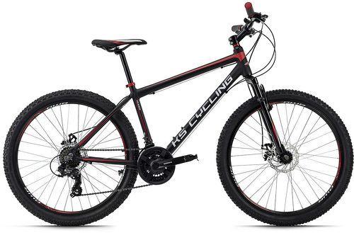KS Cycling-VTT semi-rigide 26'' Xceed noir-rouge TC 50 cm KS Cycling-image-1