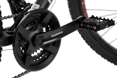 KS Cycling-VTT semi-rigide 26'' Xceed noir-rouge TC 50 cm KS Cycling-image-2