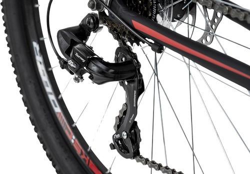 KS Cycling-VTT semi-rigide 26'' Xceed noir-rouge TC 50 cm KS Cycling-image-3