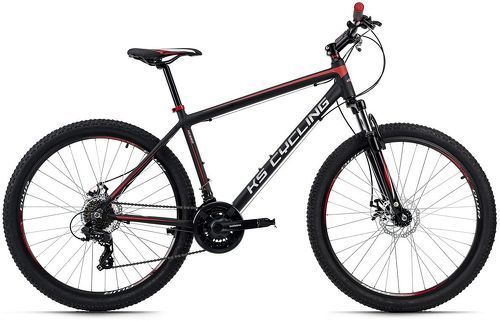 KS Cycling-VTT semi-rigide 27,5'' Xceed noir-rouge TC 42 cm KS Cycling-image-1