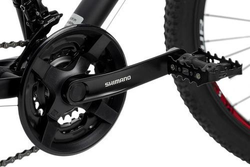 KS Cycling-VTT semi-rigide 27,5'' Xceed noir-rouge TC 42 cm KS Cycling-image-2