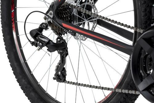 KS Cycling-VTT semi-rigide 27,5'' Xceed noir-rouge TC 42 cm KS Cycling-image-3