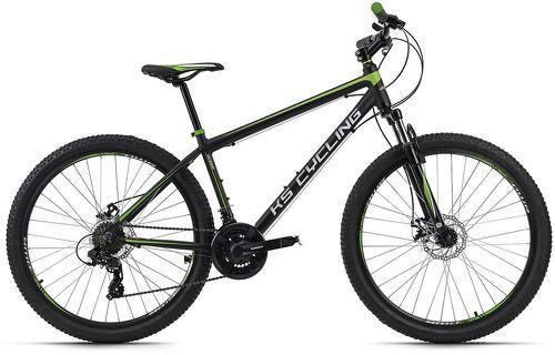 KS Cycling-VTT semi-rigide 27,5'' Xceed noir-vert TC 42 cm KS Cycling-image-1