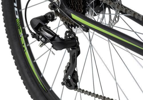 KS Cycling-VTT semi-rigide 27,5'' Xceed noir-vert TC 42 cm KS Cycling-image-3