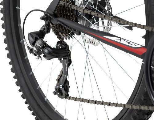 KS Cycling-VTT semi-rigide 26'' Xtinct noir-rouge TC 50 cm KS Cycling-image-3