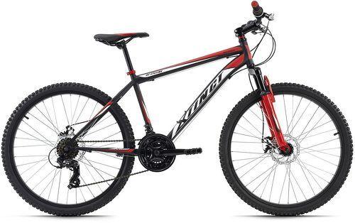 KS Cycling-VTT semi-rigide 26'' Xtinct noir-rouge TC 50 cm KS Cycling-image-1