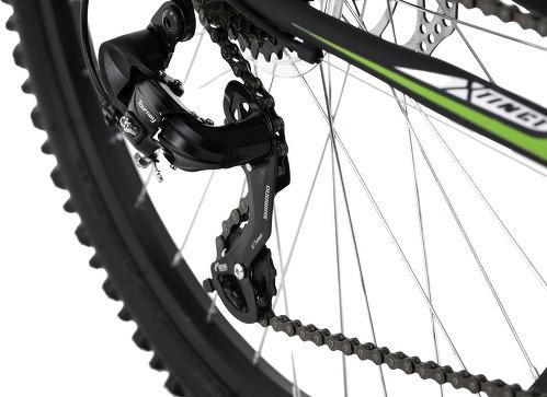KS Cycling-VTT semi-rigide 26'' Xtinct noir-vert TC 50 cm KS Cycling-image-3
