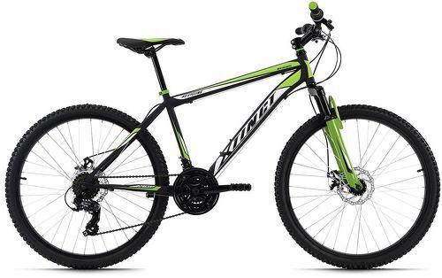 KS Cycling-VTT semi-rigide 26'' Xtinct noir-vert TC 50 cm KS Cycling-image-1