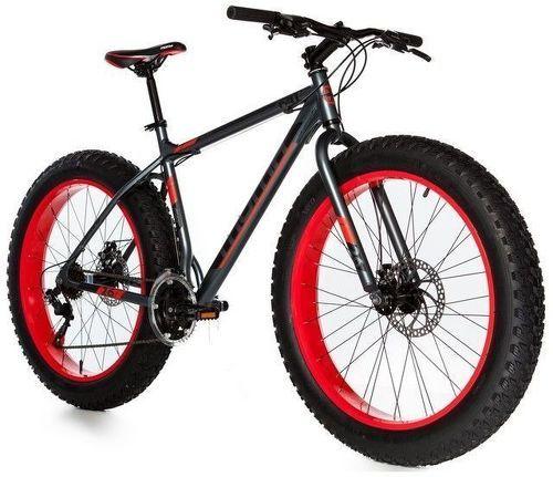 "MOMABIKES-Moma Bikes Vélo, VTT, FAT 26"", Aluminium, SHIMANO 21V, Freins a Disque (Plusieurs tailles)-image-1"