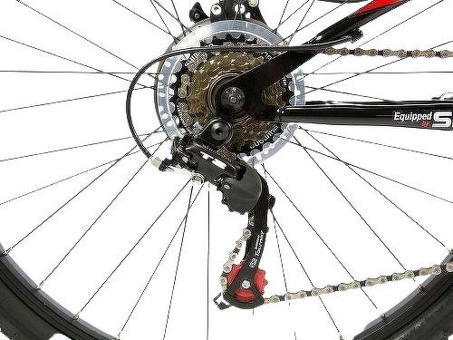 "MOMABIKES-Moma Bikes Vélo VTT, HIT26"", SHIMANO 21V, Freins a Disque, Suspension Avant-image-3"