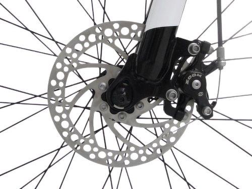 "MOMABIKES-Moma Bikes Vélo VTT, HIT26"", SHIMANO 21V, Freins a Disque, Suspension Avant-image-5"
