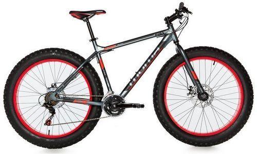 "MOMABIKES-Moma Bikes Vélo, VTT, FAT 26"", Aluminium, SHIMANO 21V, Freins a Disque (Plusieurs tailles)-image-2"