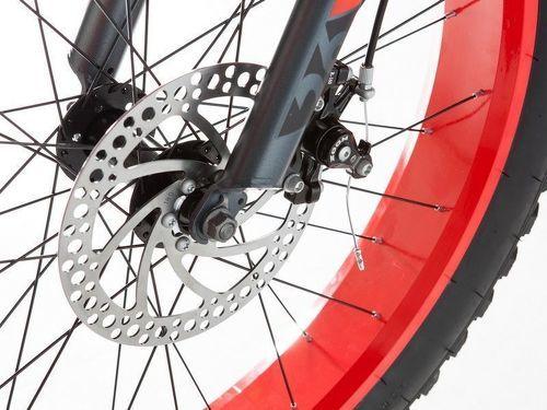 "MOMABIKES-Moma Bikes Vélo, VTT, FAT 26"", Aluminium, SHIMANO 21V, Freins a Disque (Plusieurs tailles)-image-4"