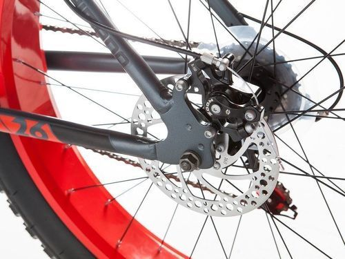 "MOMABIKES-Moma Bikes Vélo, VTT, FAT 26"", Aluminium, SHIMANO 21V, Freins a Disque (Plusieurs tailles)-image-5"