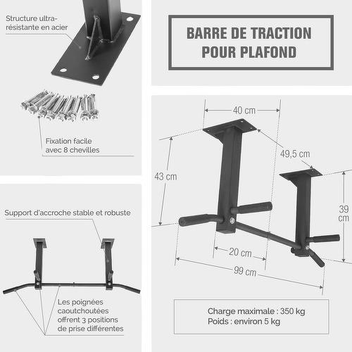 GORILLA SPORTS-Barre de traction pour plafond-image-3