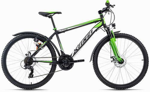 KS Cycling-VTT semi-rigide ATB 26'' Xtinct noir-vert TC 50 cm KS Cycling-image-1