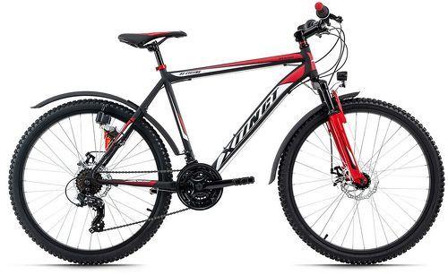 KS Cycling-VTT semi-rigide ATB 26'' Xtinct noir-rouge TC 46 cm KS Cycling-image-1