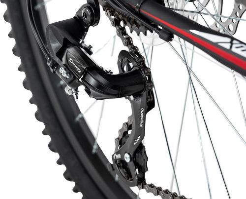 KS Cycling-VTT semi-rigide ATB 26'' Xtinct noir-rouge TC 46 cm KS Cycling-image-3