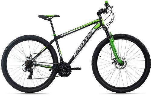 KS Cycling-VTT semi-rigide 29'' Xtinct noir-rouge TC 56 cm KS Cycling-image-1