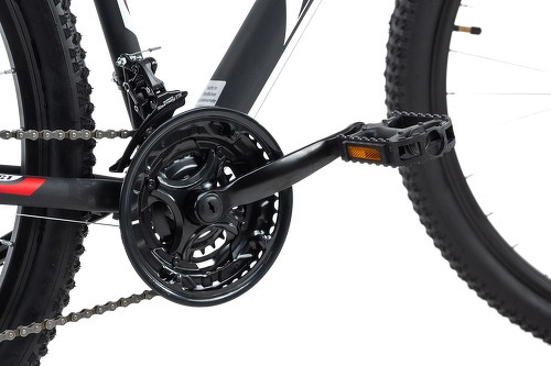 KS Cycling-VTT semi-rigide 29'' Xtinct noir-rouge TC 46 cm KS Cycling-image-2